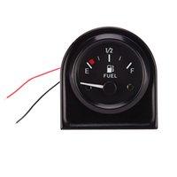 Wholesale inch mm Universal Car Fuel Level Gauge Meter With Fuel Sensor E F Pointer