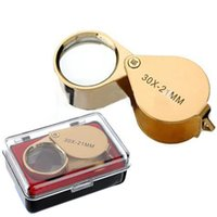 Wholesale Lowest Price x Power mm Jewelers Magnifier Magnifying glass Eye Loupe Jewelry Store Gold Watch Repair Tool