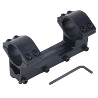 Wholesale Integrated Dual Ring Round Top Dovetail Torch Scope Mount mm Rail