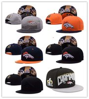 Wholesale 2016 New Styles football Champions Broncos th Super Bowl hats for Adult Men Womoen Outdoors Snapback Caps Adjustable Casual Hats
