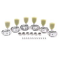 Wholesale High Quality set R3L Green Tulip Button Machine Heads Tuning Pegs Tunner for LP Classical Guitar