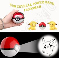 bank projects - Poke Ball Power Bank mah rd Generation Poke Cartoon Phone Charger External Battery With Led Light Project OOA564