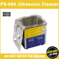 basket washing machine - PS A L W Stainless Steel Ultrasonic Cleaner washing basket Digital Control Heating Ultrasonic Washing Machine pc head CE FC RoHS