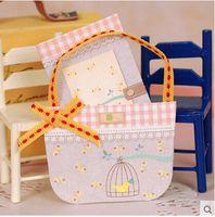 beautiful gift baskets - Fashion style greeting card beautiful flower Basket Shape Birth Congratulation Gift stationery