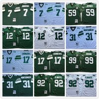 throwback football jersey - Throwback Ron Jaworski Randall Cunningham Harold Carmichael Seth Joyner Reggie White Montgomery Brown Green Football Jerseys