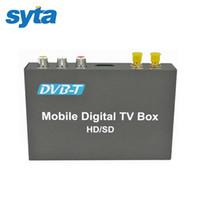 Wholesale 2016 OEM SYTA DVB T CAR DIGITAL TV RECEIVER HD SD DVB T Receiver HDMI Car TV Tuner Support MPEG H Decoder