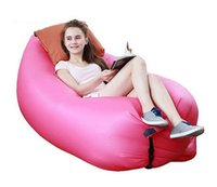 adult only camping - 2016 New Lamzac laybag Fast Inflatable hangout Air Sofa sleep bag Camping Bed Sofa Lounger Only Need Ten Seconds kaisr Free Ship