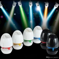 Wholesale LOYFUN Mini Portable USB Speaker Loudspeaker Music Player Amplifier Colorful LED Light for Desktop Laptop Notebook Tablet PC