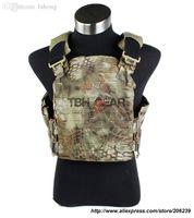 Wholesale TMC Strandhogg Plate Cut Plate Carrier MAD D Nylon Kryptek Mandrake Tactical Vest TMC2087 SKU12050213