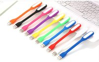 Wholesale Mini USB Lead Light Portable Flexible Night Light with USB for Powerbank PC Laptop Notebook Computer Keyboard Holiday Light for Christmas