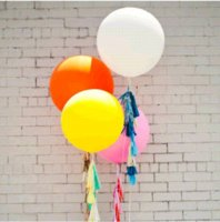 big lots advertising - 10 Mix Color quot Large Helium Advertising Balloons Big Balloon In Latex Happy Birthday For Kids