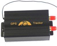Compra Dispositivos anti-robo de coches-TK103B perseguidor del GPS del coche del vehículo con teledirigido GSM / GPRS que sigue el dispositivo GPS103B sistema antirrobo del perseguidor de la alarma