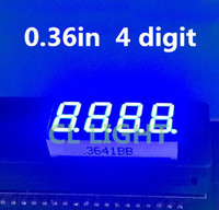 Wholesale Blue inch Digit Segment digital Light LED Numeric Digital Display Common Cathode quot in digit tube