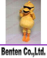 achat en gros de robes de mariée animaux-VO110 réels Photos Mascot Yellow Duck Costumes Costume personnalisé Cartoon Dress Kits animaux Thème Pour Mariage Adulte Carnaval Halloween