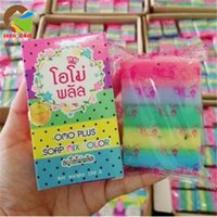 anti aging fruits - HOT OMO white plus soap rainbow soap whitening fruit essential oil Moisturizing soap Gluta Thailand for facial and body