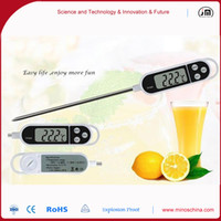 Wholesale white household using kitchen Cooking Food Probe BBQ Meat Thermometer