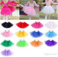 Wholesale Cheap Childrens Clothes Wholesale - 16 color Baby Girls cheap skirt Childrens Kids Dance Clothing Tutu Skirt Pettiskirt Dancewear Ballet Dress Fancy Skirts Costume