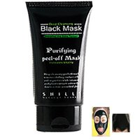 Wholesale Free DHL Ml Black Deep Cleansing Purifying Blackhead Pore Removal Peel Off Facial Pulling Compact Mask GD m01