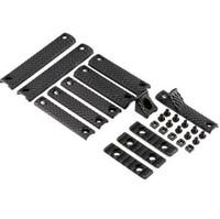 Wholesale AEG Accessory Handguard RIS Black KAC URXIII Grip Airsoft Rail Covers