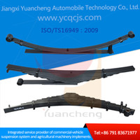 Wholesale Trustable Chinese Manufacturer Customized Design Heavy Duty Truck Trailer Quality Steel Leaf Spring Mechanical Suspension System
