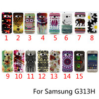 ace tiger - For G313H Case Cute Owl Tiger Aztec Tribal Tribe Soft TPU Back Case For Samsung Galaxy Ace NXT G313 G313H Phone case