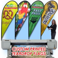Wholesale Free ship Graphic custom printing for Teardrop flag graphic replacement both single double sided available beach banner advertising flag