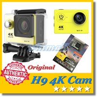 Wholesale EKEN H9 K Action Camera inch LCD screen Wifi waterproof Sport DV P fps degree wide Angle SJ7000