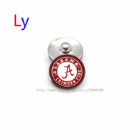 african movies - Noosa chunks Pendant Bracelet mm Snap button buttoned alabama NACC university sports interchangeable jewelry for Sports fans NE0009