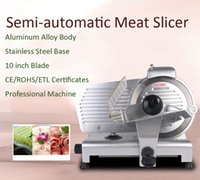 Wholesale 110V Frozen Meat Slicer Semi automatic Commercial Cutting Machine