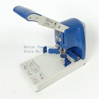badge paper cutter - DR6 paper binding covers laminated badges books corner cutter manual desk top corner cutter with punching function mm