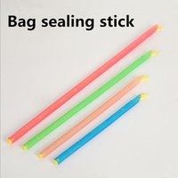 Wholesale Bag sealing stick bulk supply Polybag Food Storage Sealing stick clamp clip Lock bags Kitchen Gadgets storage