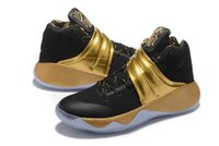 basketball league - 2016 New ship Kyrie Drew League Blakc Gold Men Basketball Shoes Kyrie Irving USA th of July Cheap Sneakers For Sale