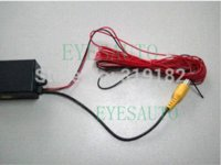 automatic video switch - Two Three channel car camera video controller box car video automatic switch control rear side or front cameras DVD VCR