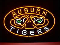 auburn bars - NEON SIGN NEW AUBURN TIGERS Custom Store Display Beer Bar Pub Club Lights Signs Shop Decorate Real Glass Tube Bulbs