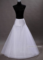 Wholesale Wed dress petticoat for Wedding Dress Crinoline underskirt for Ball Gown anagua de vestido de noiva jupon mariage