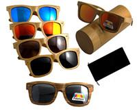 Wholesale LOGO engraved available wooden sunglasses for men classica brand women sunglasses polarized glasses for women star styles