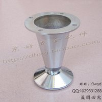 aluminum booth - Adjustable cabinet booth furniture cabinet hardware accessories sofa foot table stool foot shoe foot aluminum tank
