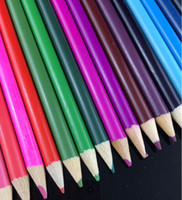 Wholesale 12 colors colors PrettyBaby wooden colored pencils for coloring books secret garden Crayon Painting Pen Drawing Pencil Painting Supplies