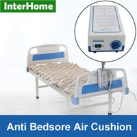 alternating mattress - Hospital CE Medical Hospital Sickbed Alternating Pressure Air Mattress with Pump Prevent Bedsores and Decubitus Pneumatic Massage Cushion