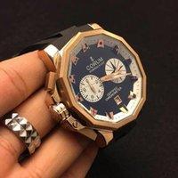 admiral black - New C M mm sapphire watch Admirals CUP high quality men s watches quartz chronometer chronograph chrono wristwatch waterproof
