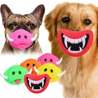 Wholesale Hot Pig Demon Style Pet Dog Cat Toy Dog Treat Training Chew Sound Activity Toy Puppy Squeaky Play Toys Random Color