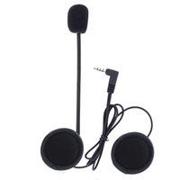 Wholesale ccessories Helmet Headset V6 Accessories Microphone Speaker amp Clip ONLY Suit for V6 Helmet Intercom Motorcycle Bluetooth Device mm