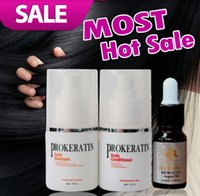 Wholesale set Daily treatment After Brazilian Keratin Treatment hair care Daily shampoo daily conditioner get argan oil