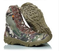 Cheap Hot Men's Jungle Boot Desert Tactical Camouflage Combat Boots Outdoor Hiking Shoes Army Military Boots