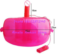 Wholesale Vibrating Inflatable sex chair sex furnitures for women inflatable sofa mold Vibes horse dildo female masturbator sex toys
