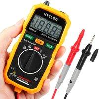 Wholesale New Hot Sale Non Contact Mini Digital Multimeter DC AC Voltage Current Tester HYELEC MS8232 Ammeter Multitester