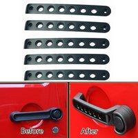 Wholesale 5pcs Black Handle Cover Trim Bar Moulding for JEEP Wrangler JK Door