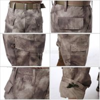 Wholesale New Men s camouflage trousers tactial pants military army cargo pants combat multicam militar trousers