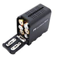 Wholesale FALCON EYES BB AA Battery Case Pack Power as NP F970 for LED Video Lamp Light Panels or Monitor YN300 III DV V