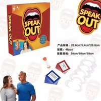 Wholesale Hottest Speak Out Game KTV party game cards for party Christmas gift newest best selling toy B1020
